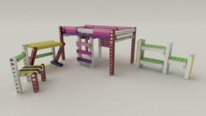 Бизнес идеи: Детская мебель-конструктор OLLA