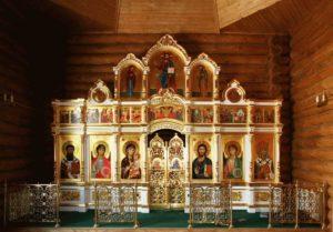 Изготовление иконостасов для дома и храмов