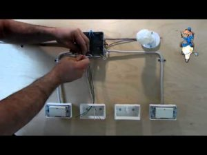 Дистанционные выключатели освещения. Монтаж проходных настенных выключателей без проводов