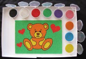 Бизнес идея: Рисунки из песка - модное творчество