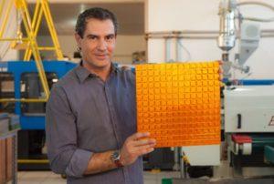 Бизнес идеи: Мозаичная плитка из пластиковых бутылок (ПЭТ-бутылок)