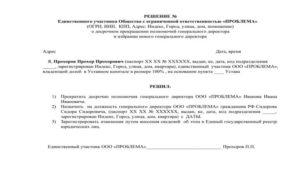 Пошаговая инструкция по смене генерального директора ООО в 2018 году