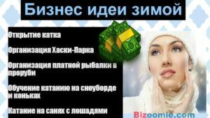 Бизнес идеи зимнего бизнеса