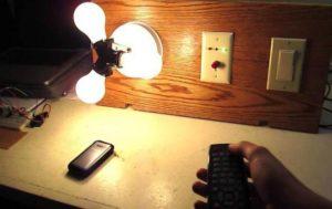 Дистанционное управление освещением с помощью специальных выключателей