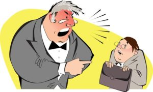 Злой директор или начальник