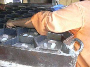 Технология изготовления тротуарной плитки из пластика