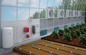 Выбор системы отопления для теплицы