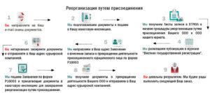 Ликвидация ООО путем присоединения - пошаговая инструкция