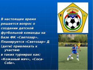 Бизнес-план футбольного клуба