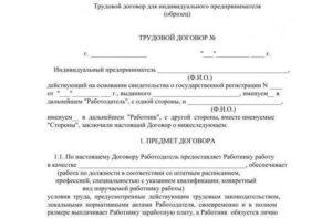 Договор между ип и физлицом на маникюр