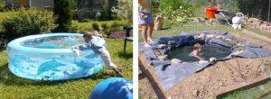 Бассейн своими руками на даче фото. Как сделать недорогой бассейн на даче