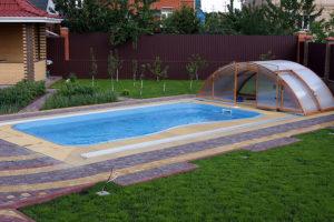 Строительство бассейнов на даче: цены под ключ