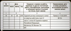 Порядок увольнения работника в связи со смертью в 2018 году: приказ запись в трудовой выплаты и прочее