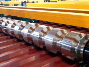 Оборудование используемое при производстве профилированного настила