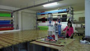 Оборудование для производства натяжных потолков