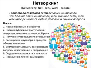 Что такое нетворкинг (networking)