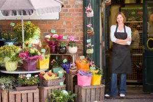 Хорошая бизнес-идея - цветочный магазин.