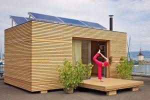 Строительство перевезенных домов отдыха