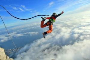 Канатный прыжок или канатный прыжок